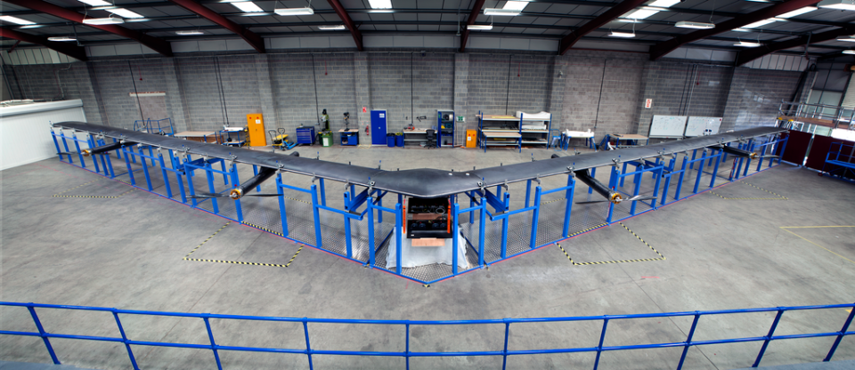 Facebook's Internet Drone Looks Like an Angry Boomerang