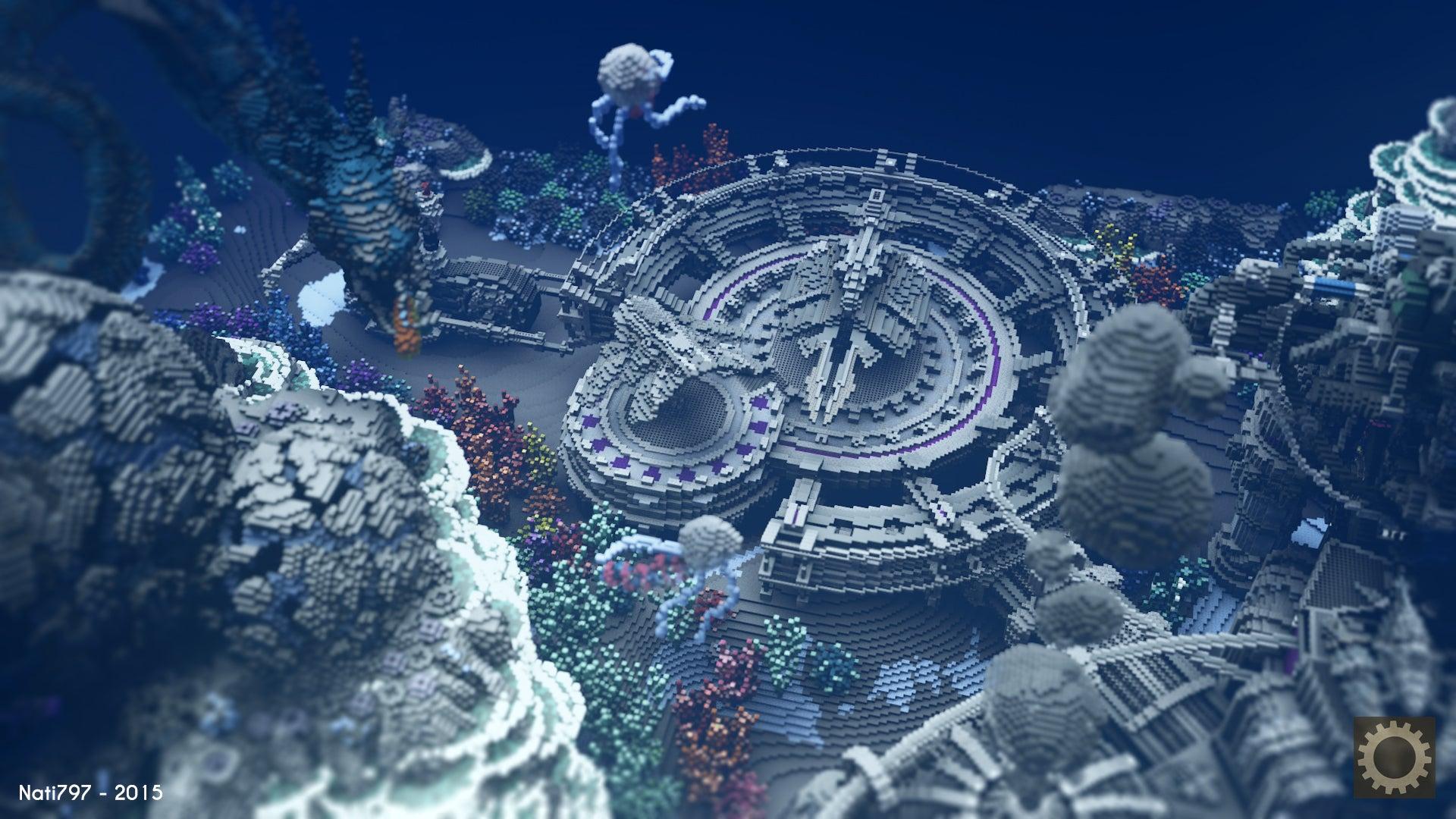 Deep Sea Wonderland Built In Minecraft Looks Incredible