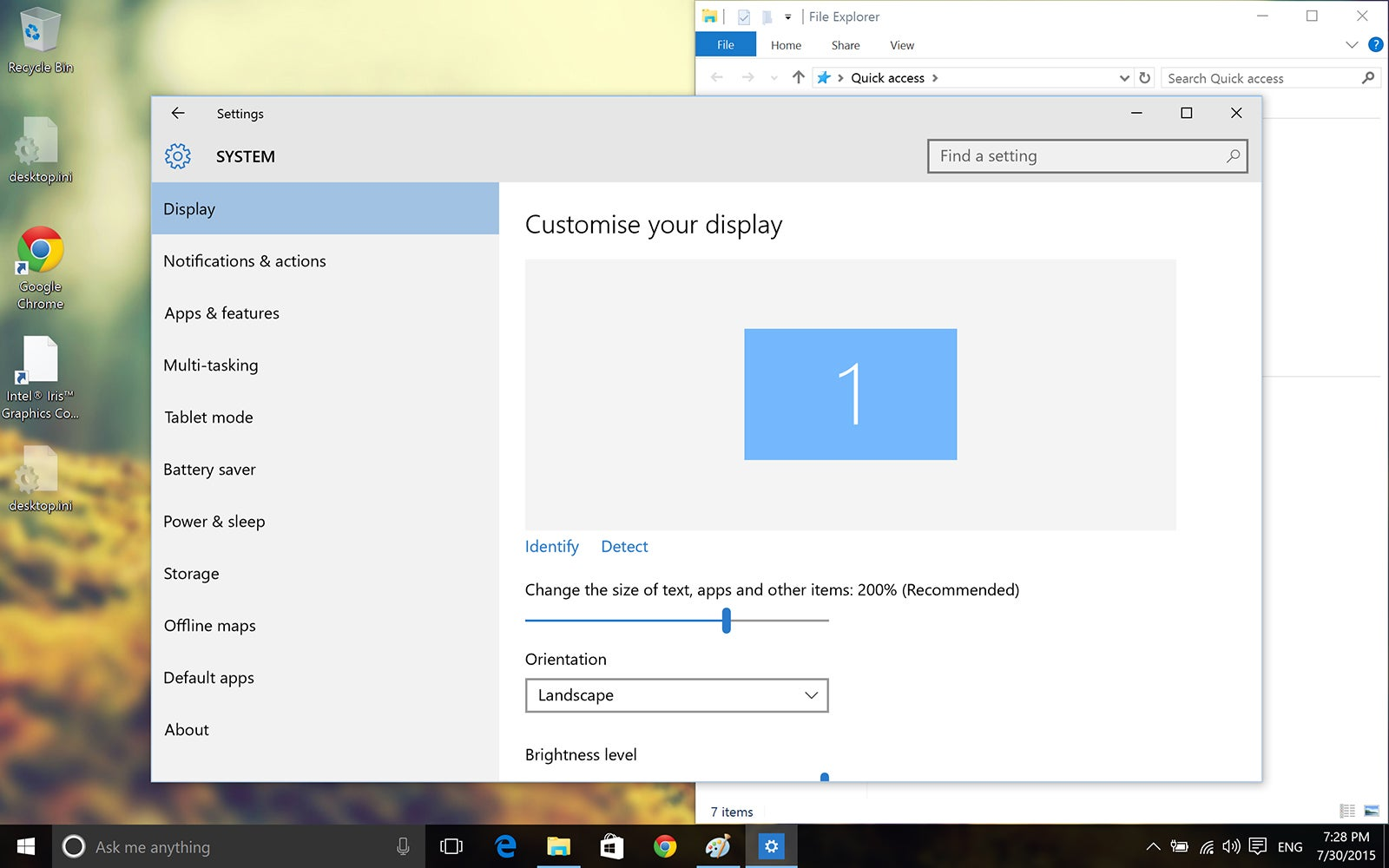 Windows 10, On a Mac