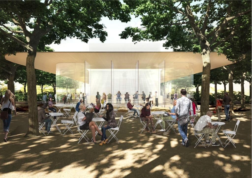 Apple's Cupertino Campus Will Have An 'Observation Deck' For Fans