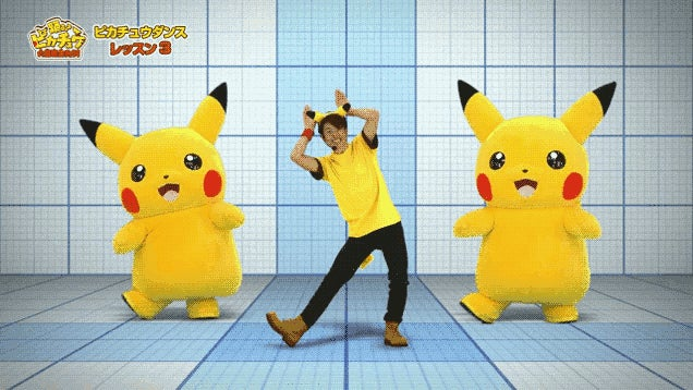 Learn the Pikachu Dance