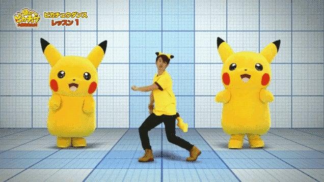 Learn the Pikachu Dance
