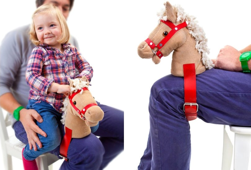 Strap This Pony Head To Your Leg For More Authentic Horsey Rides