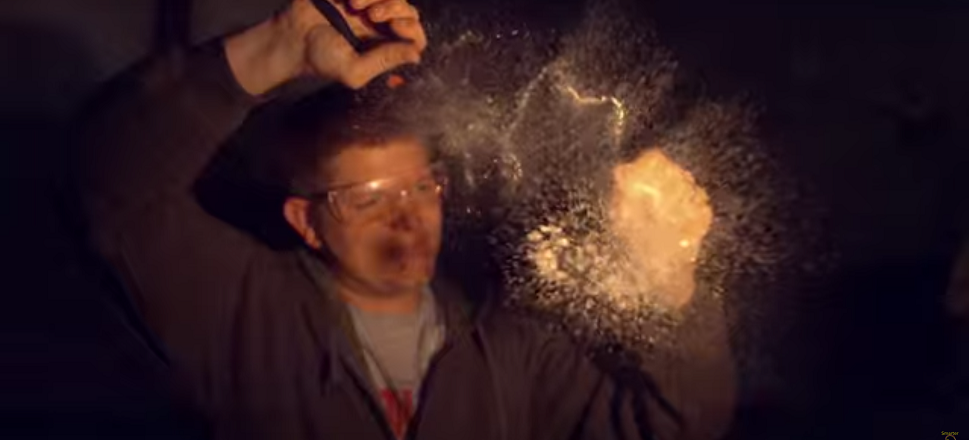 Watch Glass Explode at 130,000 Frames Per Second