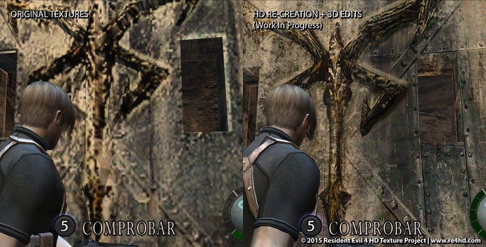 Resident Evil 4 Fans Are Creating the HD Graphics Capcom Neglected