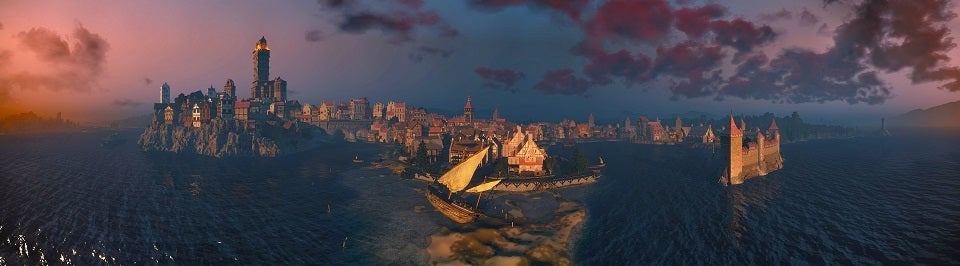 These Witcher 3 Panoramas Show Off the Game's Gorgeous Landscapes