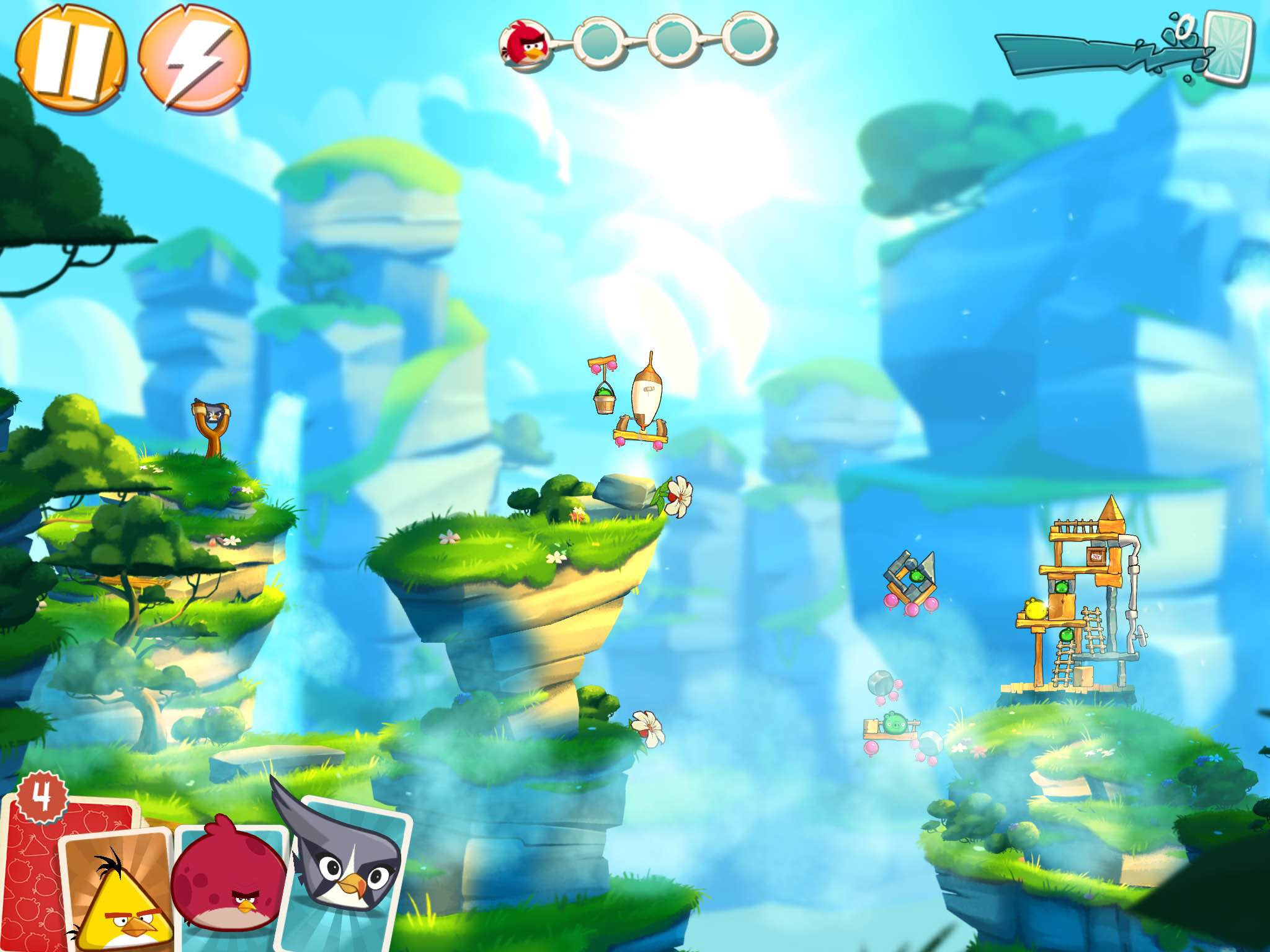 Somewhere Underneath Angry Birds 2's Nonsense Is A Solid Game