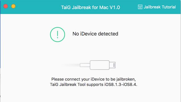 TaiG Releases iOS 8.4 Jailbreak Tool for Mac