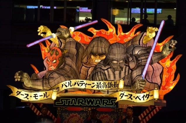 Stars Wars Turned into Japanese Lanterns