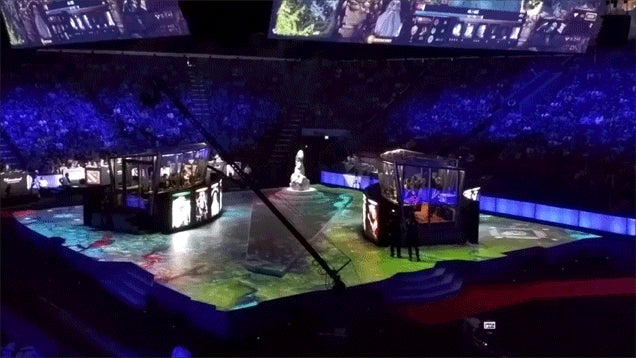 Valve's Dota 2 Tournament Stage Looks Pretty Cool