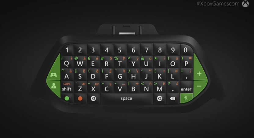 Xbox One Controller Chat Pad Will Arrive In November