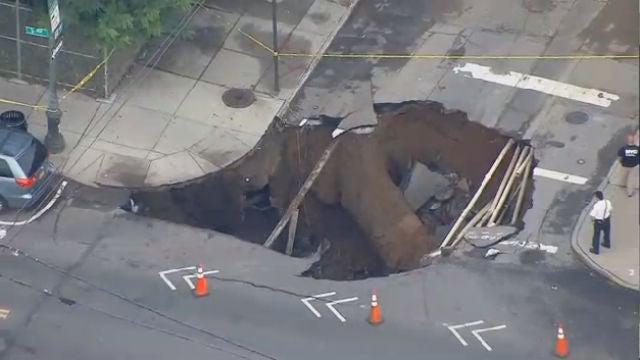 Large Sinkhole (Hell Gate?) Opens In Brooklyn