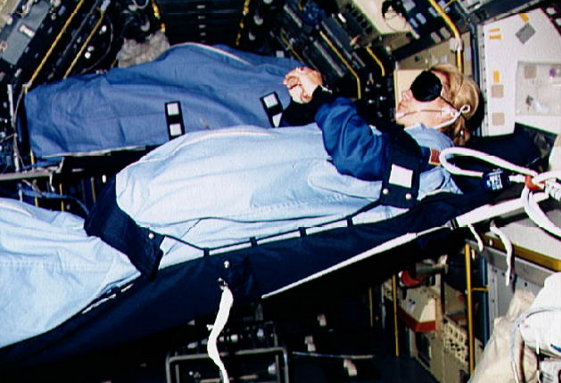How Do Astronauts Sleep In Space?