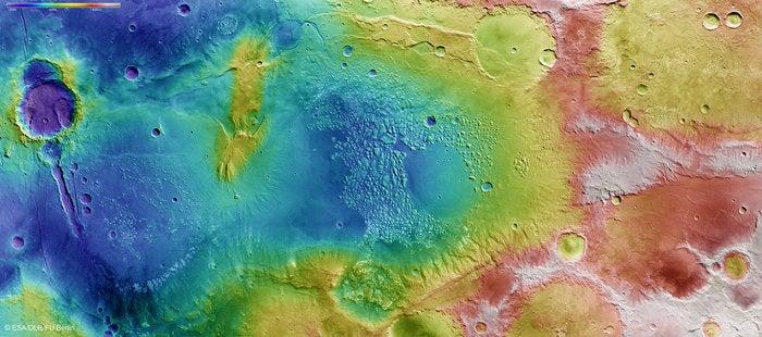 Take a Sightseeing Flight Over Mars's Atlantis Chaos