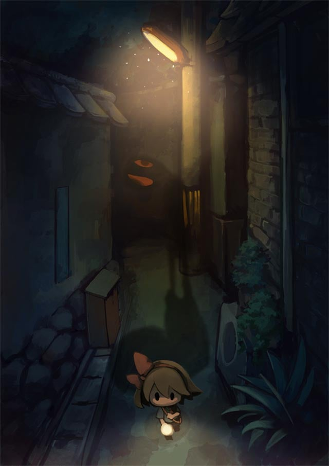 Searching the Streets at Night Has Never Been So Eerie (Yet So Cute)