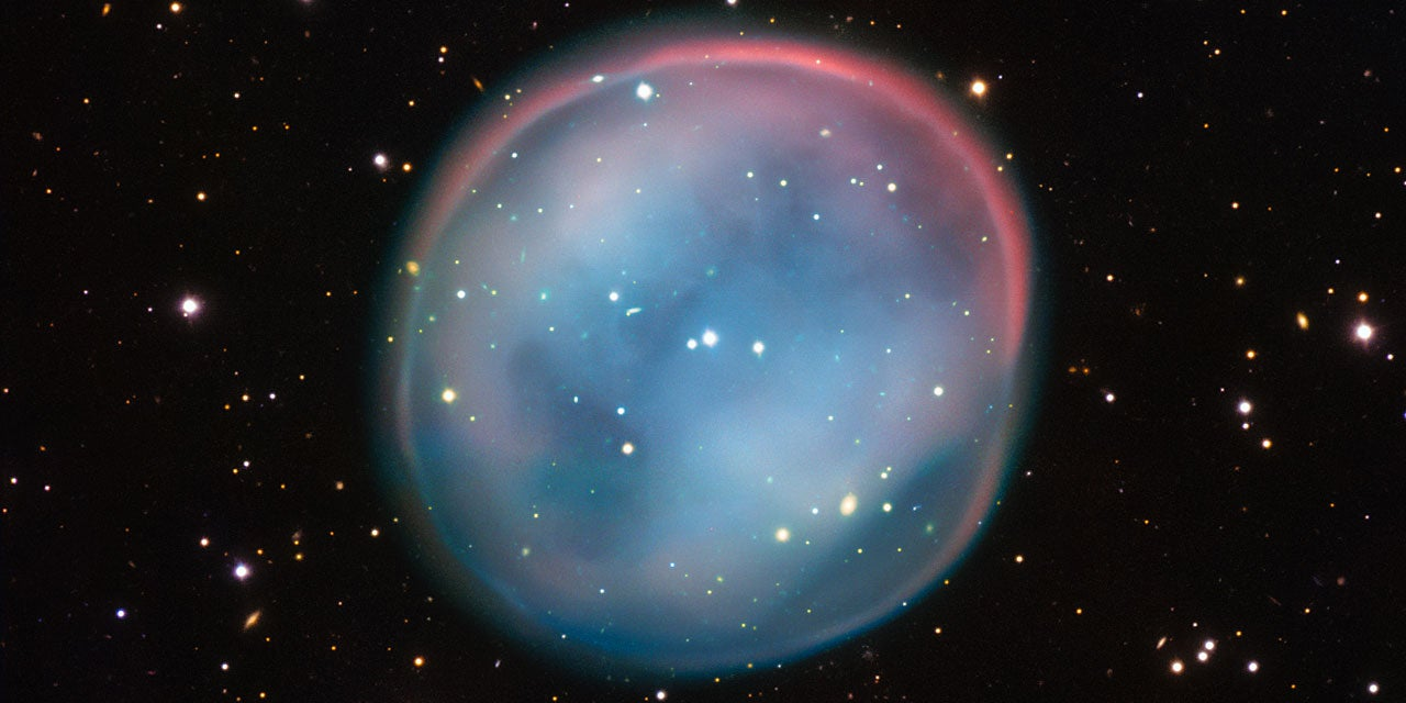 Look at This Gorgeous Ghost of a Dying Star