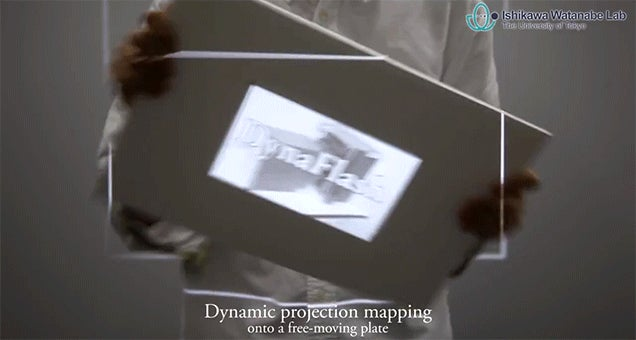 This 1,000 FPS Projector Perfectly Matches the Movements of Any Surface