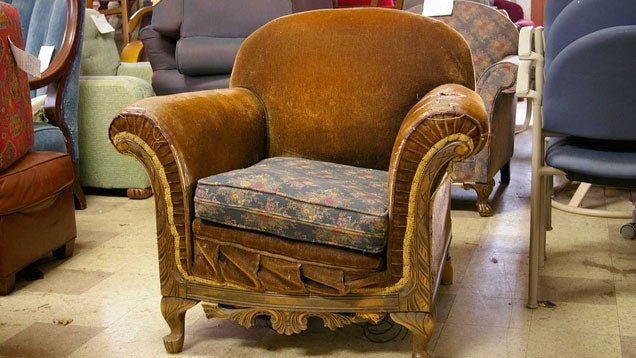 How to Reupholster an Old Piece of Furniture