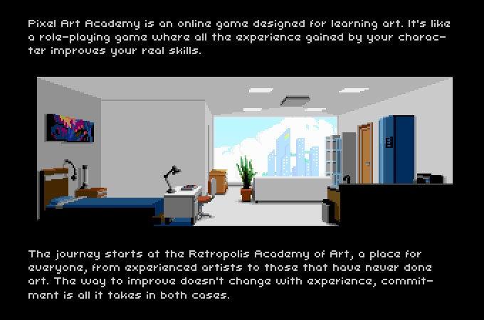 Pixel Art Game Will Teach You Pixel Art
