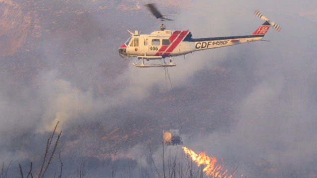 This Flamethrowing Helicopter Is Helping Fight California's Wildfires