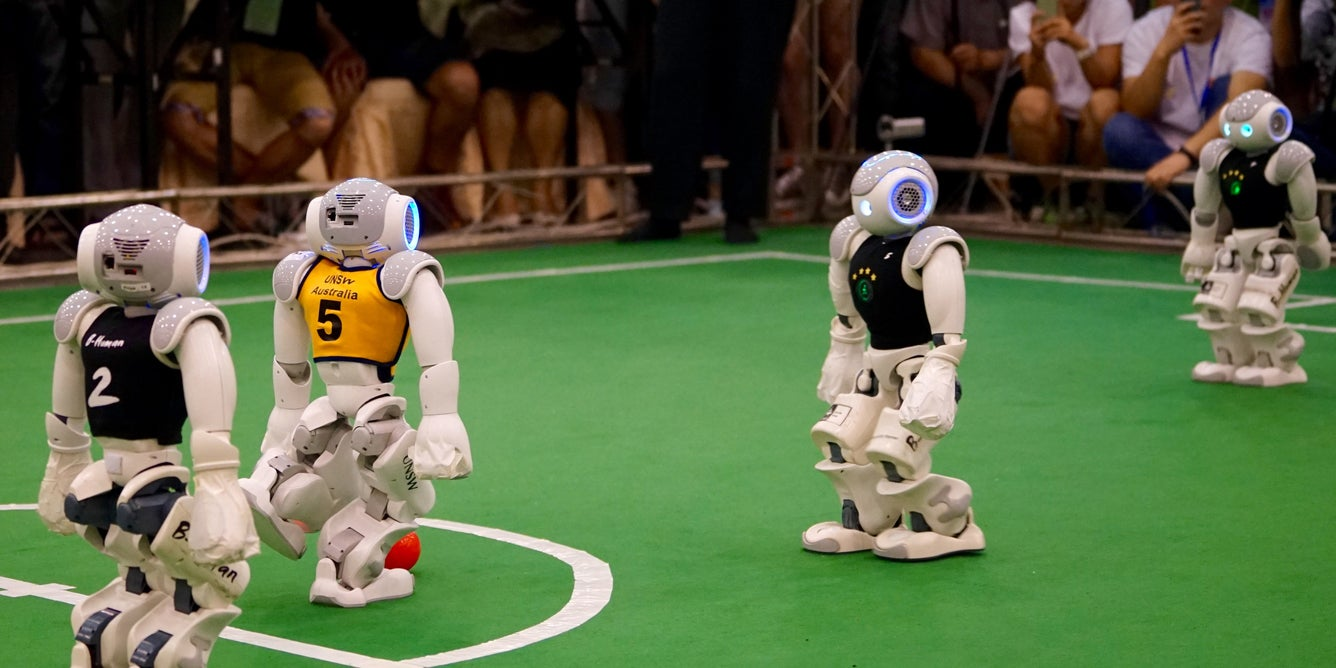 How We Won the World Robot Soccer Championship