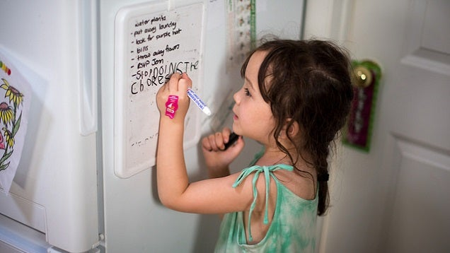 Get Your Kids to Do Their Chores by Establishing a