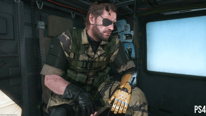 Comparing Metal Gear Solid V: TPP's Graphics on Different Platforms
