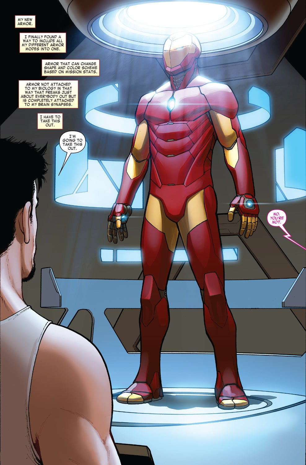 Take a Look at Iron Man's New Armour