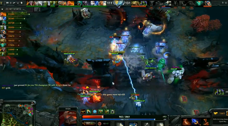 valve put on a dota 2 match with 20 players and it was crazy