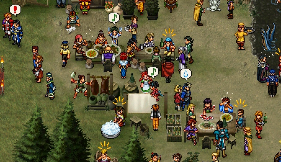 Check Out This Sweet Suikoden II Collage