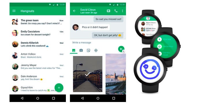 Google Hangouts for Android Gets a New Look, Streamlined Sharing