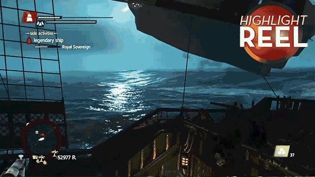 Assassin's Creed Ship Has Its Timbers Shivered