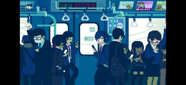 More Retro Style GIFs Show Modern Japan