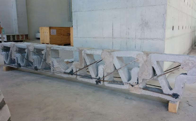 This Bizarre Concrete Beam Is the Smartest Use of 3D Printing In Architecture Yet