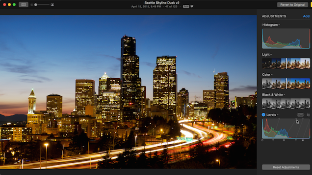 Use Copy And Paste Adjustments In OS X Photos For Quick Editing