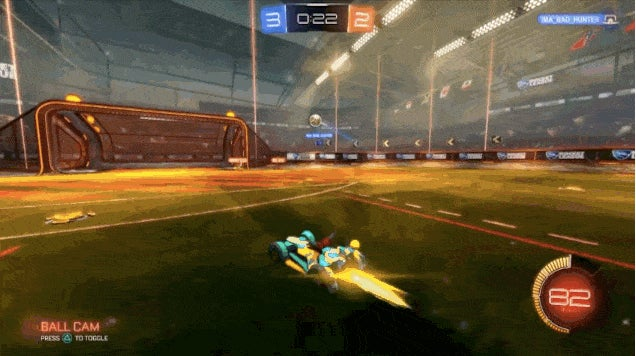 Instant Replay Tries To Undo Rocket League Goal