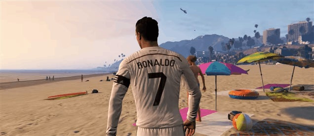 Cristiano Ronaldo Would Be A Huge Dick In GTA V