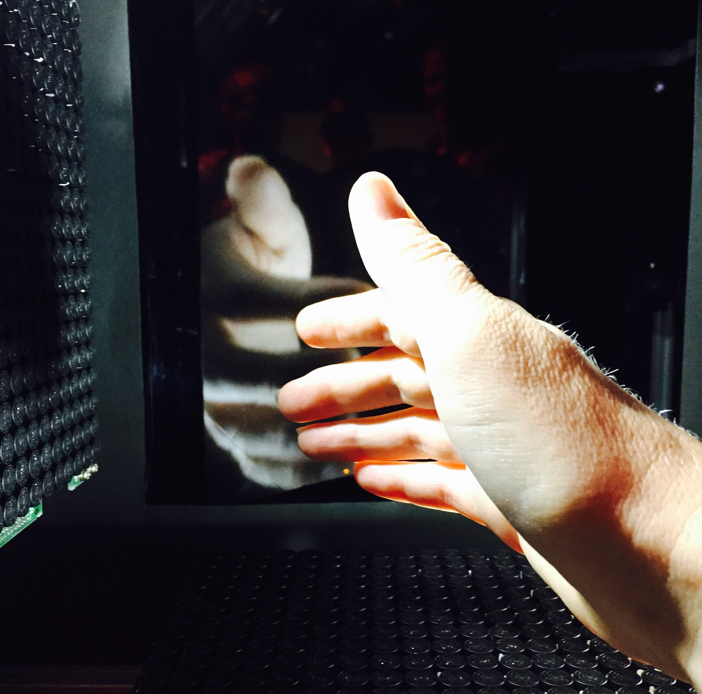 The Haptic Tech That Could Let You Touch The Person You're Skyping With