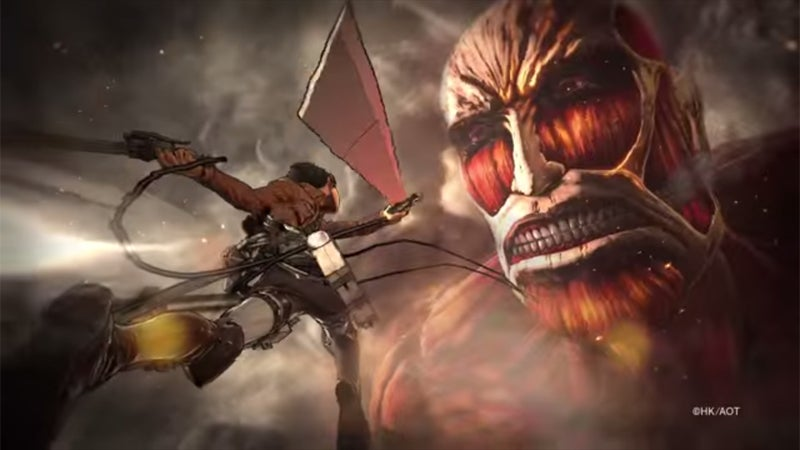 Koei Tecmo's Attack on Titan Won't be Another Dynasty Warriors Game