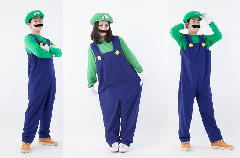 Japan's Official Mario and Luigi Cosplay Costumes