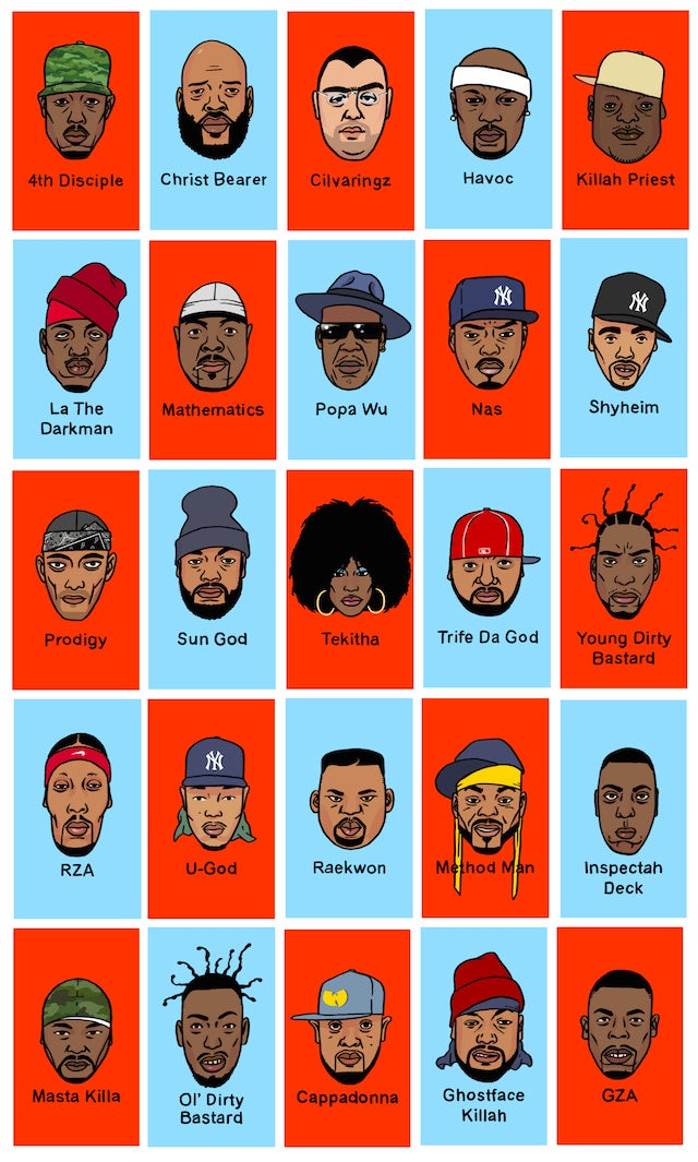 Guess Wu Is a Custom Version of Guess Who Featuring the Wu-Tang Clan