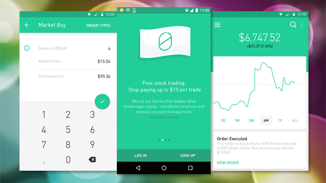 Commission-Free Stock Trading App Robinhood Is Now Available on Android