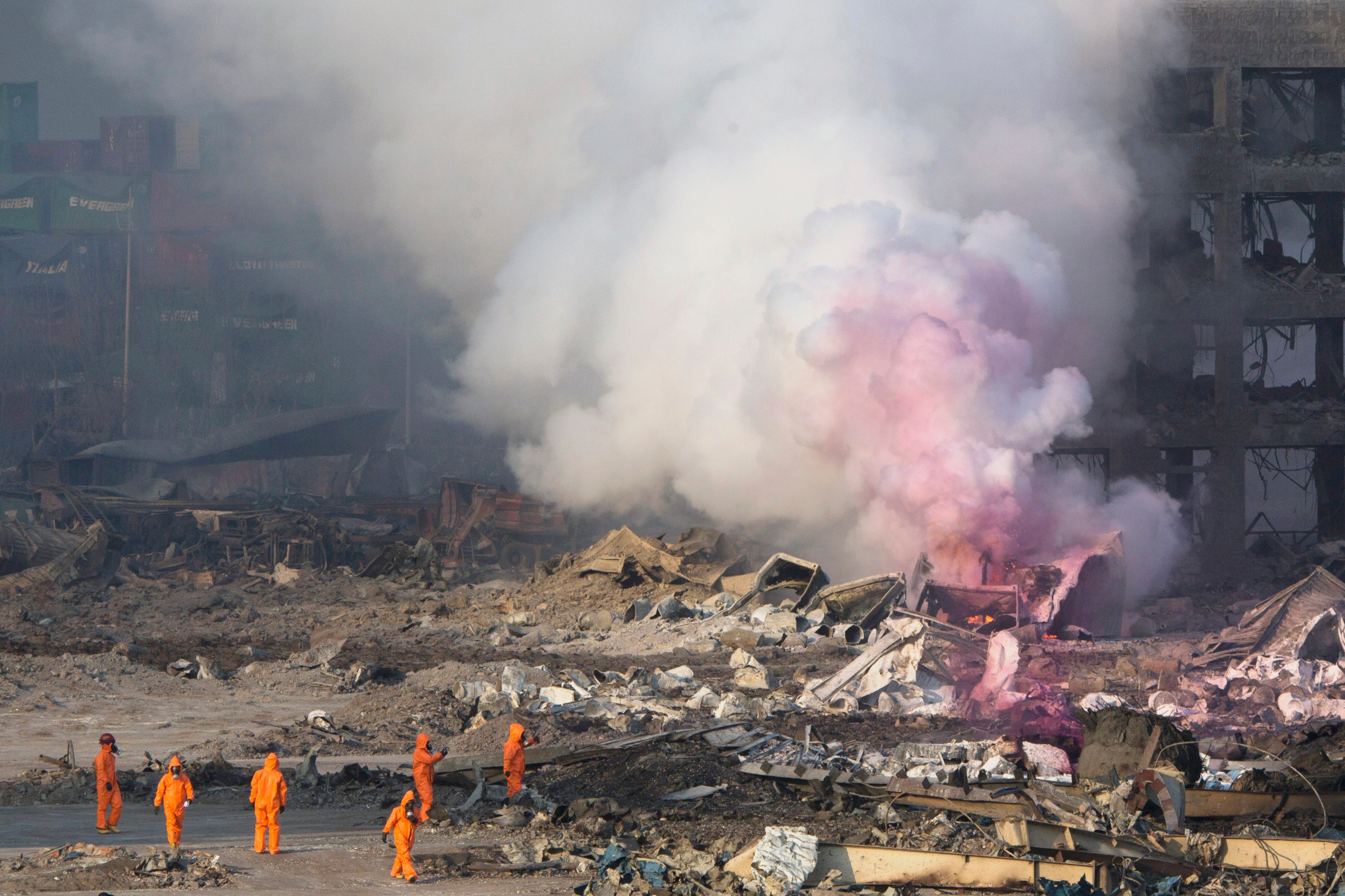 Tianjin Blasts Released So Much Energy They Looked Like Earthquakes