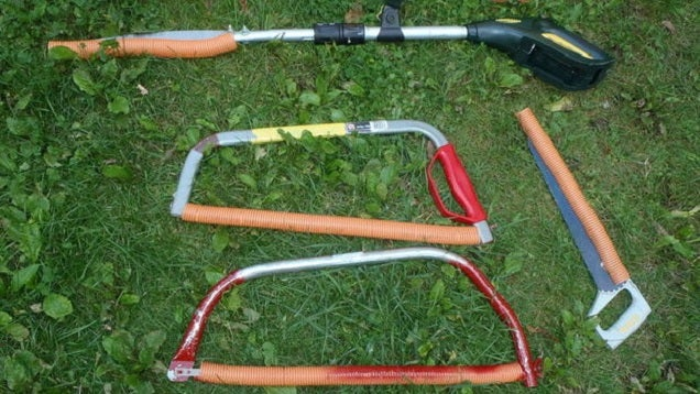 Make Simple Hand Saw Safety Guards Out of Flexible Conduit