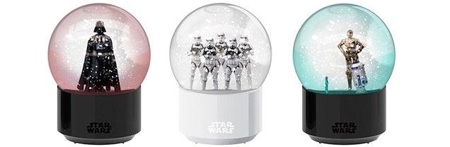The Blizzard Inside These Bluetooth Star Wars Snow Globes Reacts To Your Music