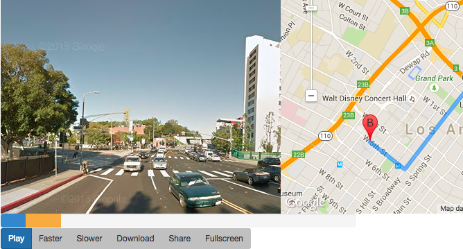Watch A Google Street View Video Of Your Map Route