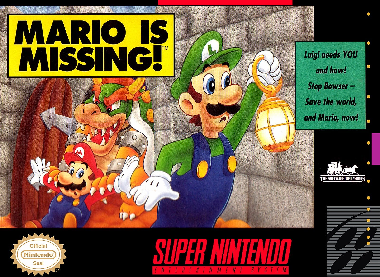 Actually, Mario Is Missing Was Awesome