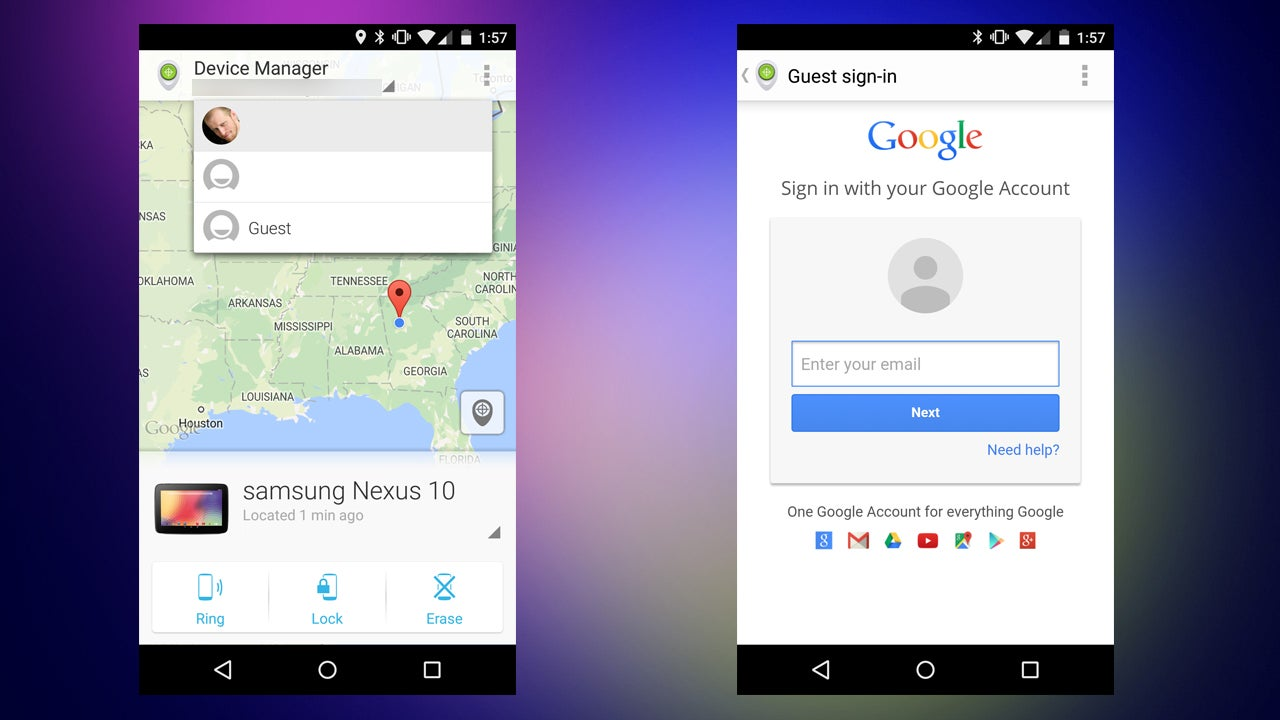 Use Android Device Manager's Guest Mode to Find Your Friend's Phone