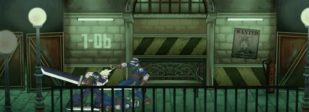 You Can Play A Final Fantasy VII Beat-em-up, Right Now