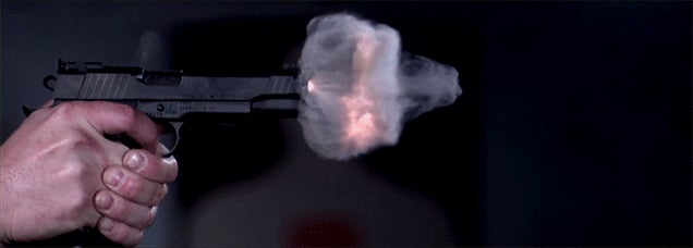 Seeing a gun fire at 73,000 FPS is absolutely definitely the most incredible thing